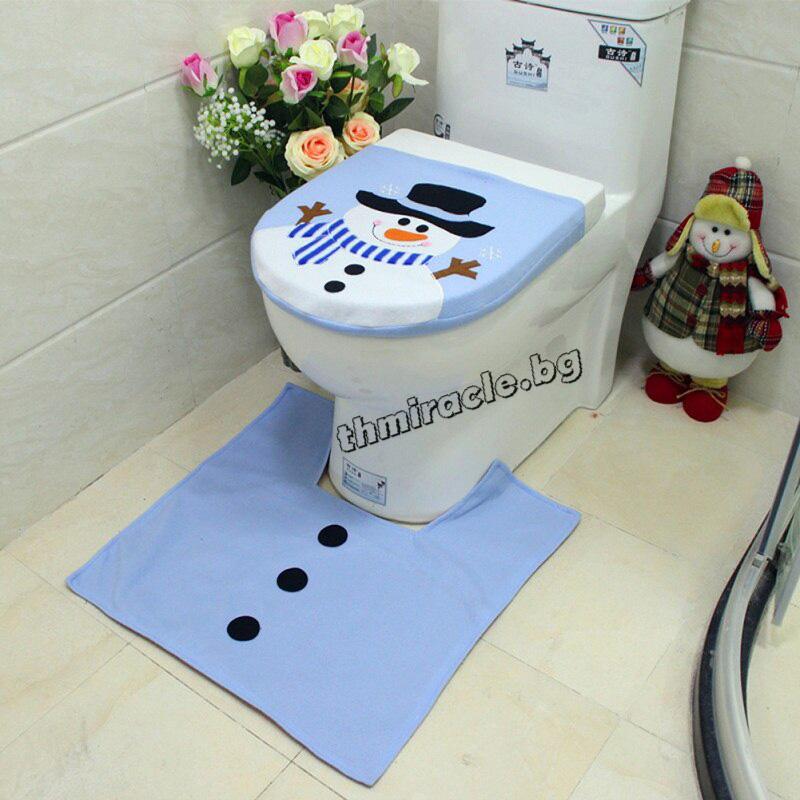 Покривало за тоалетна чиния Снежко