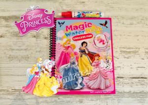 Магическа водна книжка Disney Princess + писалка