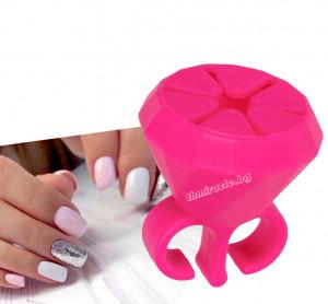 Пръстен поставка за лак за нокти