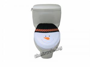 Покривало за тоалетна чиния Снежен Човек